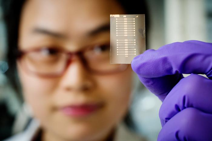 Sensors detect disease markers in breath 1