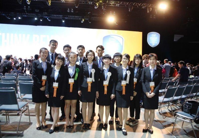 Taiwan students shine at Intel science fair