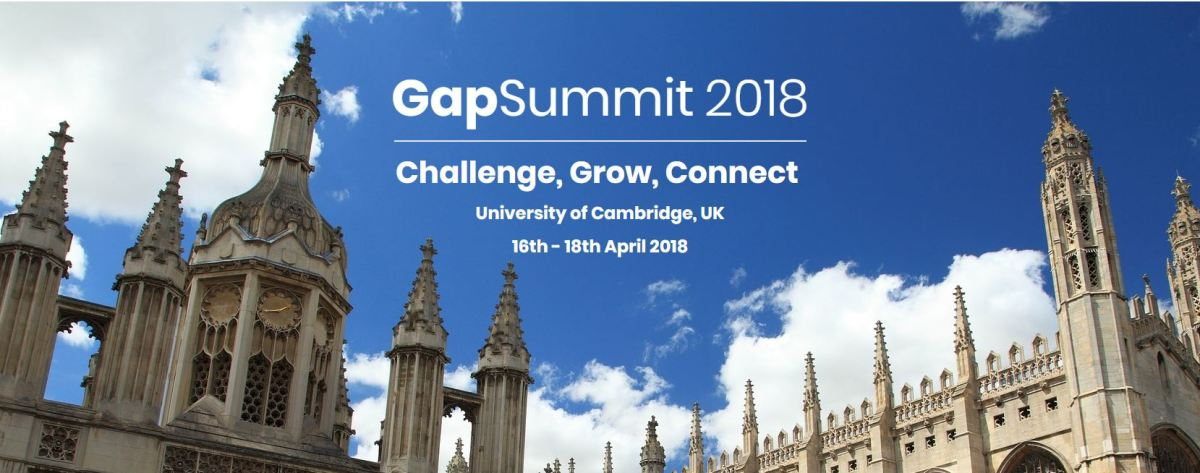 GapSummit 2018 - The World's First Global and Intergenerational Leadership Summit in Biotechnology