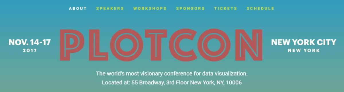 Plotcon 2017 - The world's most visionary conference for data visualization